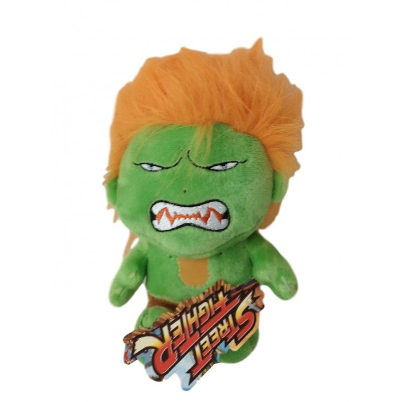 STREET FIGHTER BLANKA PUPAZZO PELUCHE 16CM PLUSH FIGURE CAPCOM