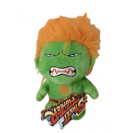 STREET FIGHTER BLANKA PUPAZZO PELUCHE 16CM PLUSH FIGURE
