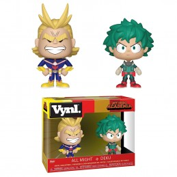 MY HERO ACADEMIA VYNL FIGURES 2-PACK ALL MIGHT AND DEKU 10 CM FUNKO