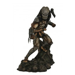 PREDATOR GALLERY CLASSIC MOVIE JUNGLE HUNTER 25CM FIGURE STATUE DIAMOND SELECT