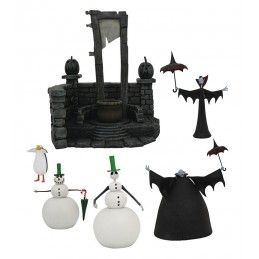 NIGHTMARE BEFORE CHRISTMAS SERIES 7 SET ACTION FIGURE