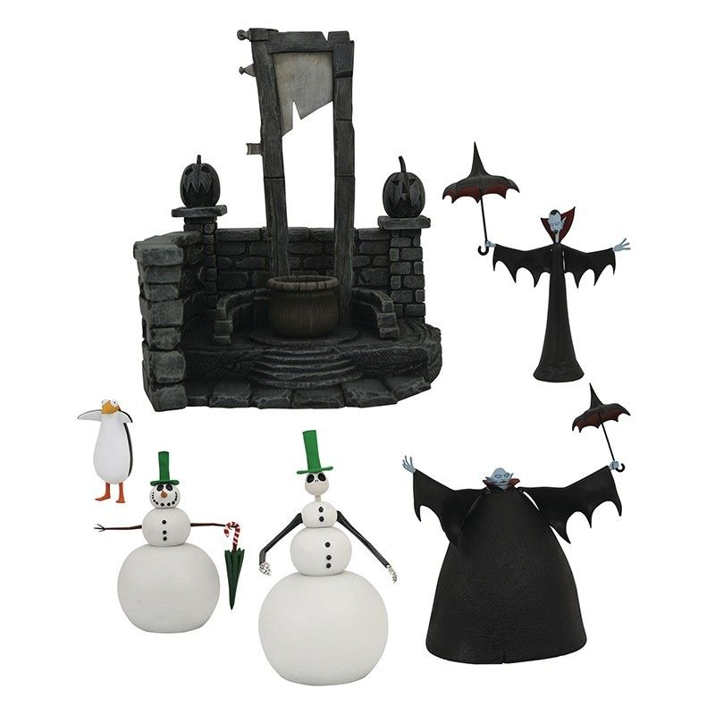 DIAMOND SELECT NIGHTMARE BEFORE CHRISTMAS SERIES 7 SET ACTION FIGURE