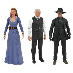 WESTWORLD SELECT SERIES 1 SET ACTION FIGURE DIAMOND SELECT