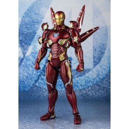 AVENGERS ENDGAME IRON MAN MARK L NANO WEAPON SET 2 16 CM FIGUARTS ACTION FIGURE