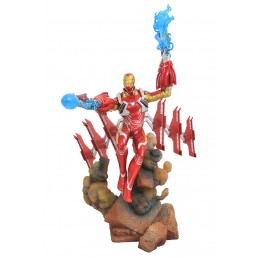 MARVEL GALLERY - AVENGERS 3 INFINITY WAR IRON MAN MARK 50 25CM STATUE FIGURE
