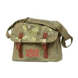 GAME OF THRONES - LANNISTER CANVAS MESSENGER BAG BORSA