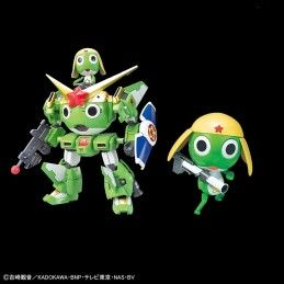 BANDAI KERORO PLAMO COLL KERORO AND KERORO ROBOT MODEL KIT