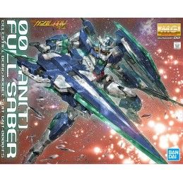 BANDAI MASTER GRADE MG 00 QANT FULL SABER 1/100 MODEL KIT FIGURE