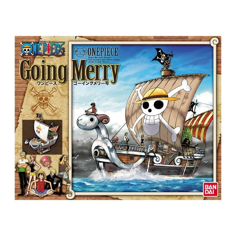ONE PIECE GOING MERRY MODEL KIT BANDAI