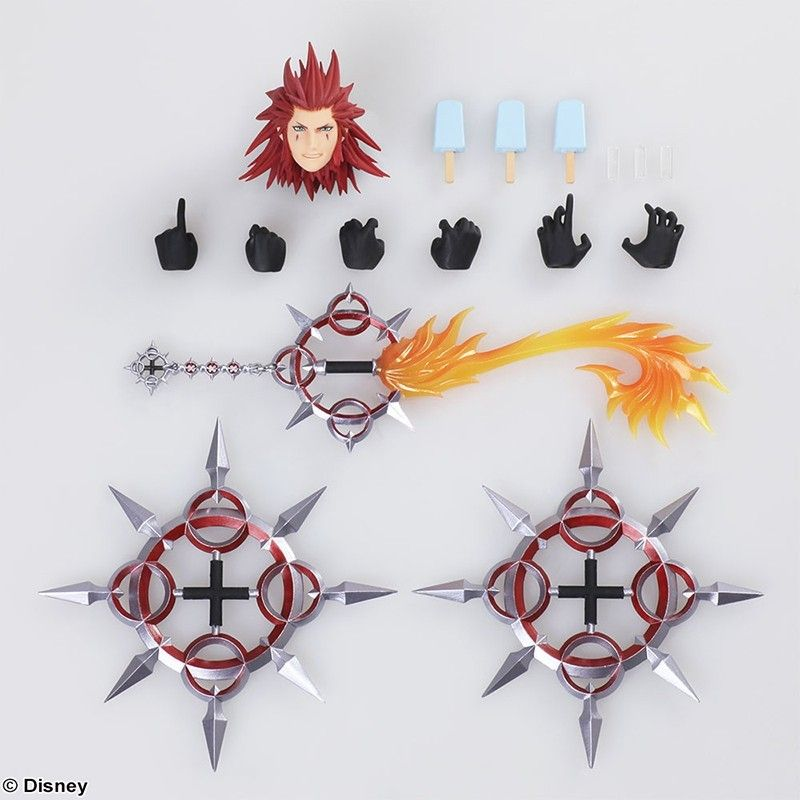 SQUARE ENIX KINGDOM HEARTS III - AXEL BRING ARTS ACTION FIGURE