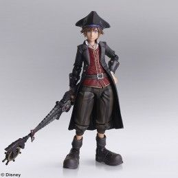 KINGDOM HEARTS III - SORA POTC BRING ARTS ACTION FIGURE SQUARE ENIX