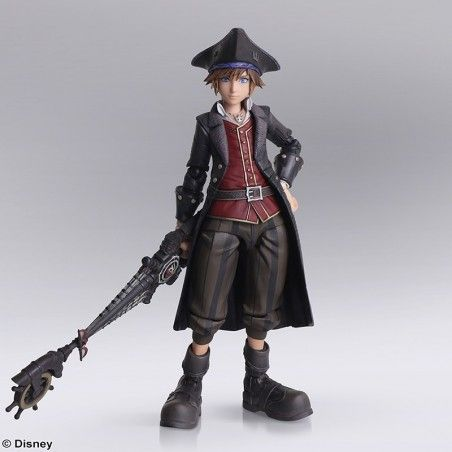 KINGDOM HEARTS III - SORA POTC BRING ARTS ACTION FIGURE