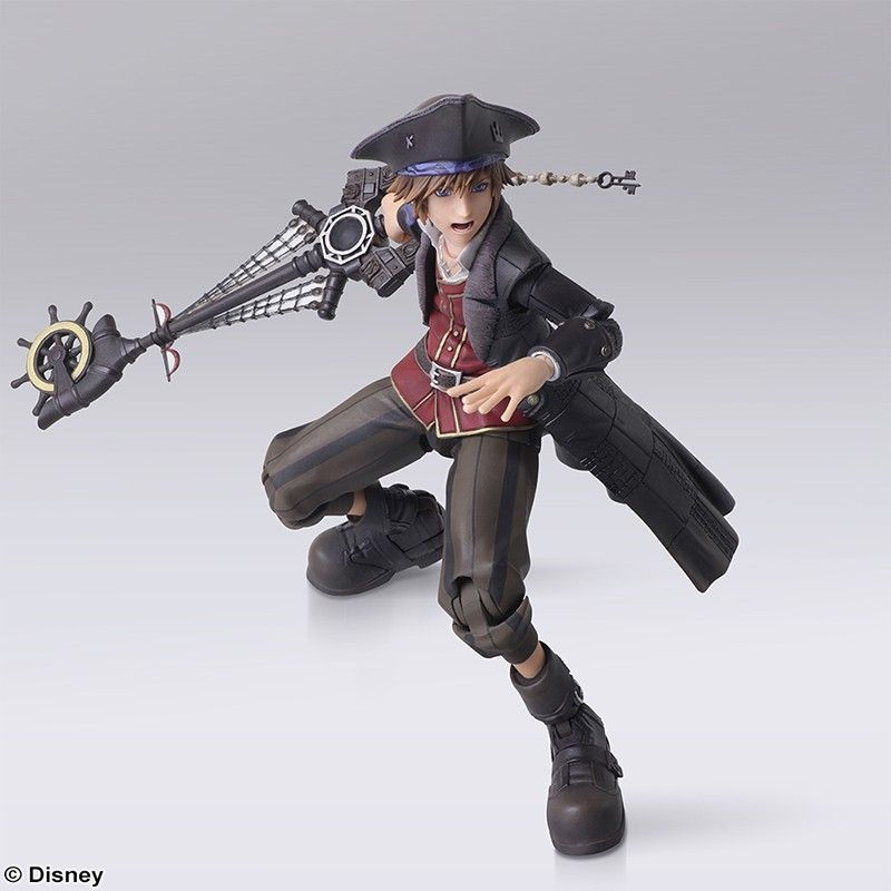SQUARE ENIX KINGDOM HEARTS III - SORA POTC BRING ARTS ACTION FIGURE
