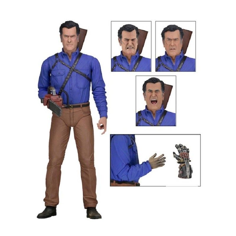 ASH VS EVIL DEAD - ULTIMATE ASH ACTION FIGURE NECA