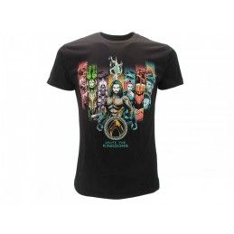 MAGLIA T SHIRT AQUAMEN AQUAMAN UNITE THE KINGDOMS