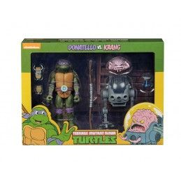 NECA TMNT TEENAGE MUTANT NINJA TURTLES - DONATELLO VS KRANG 2-PACK ACTION FIGURE