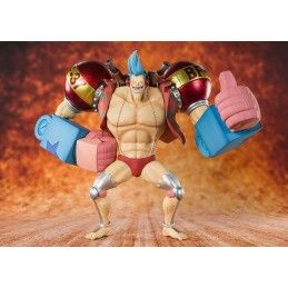 BANDAI ONE PIECE ZERO CYBORG FRANKY ACTION FIGURE