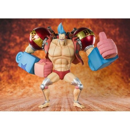 ONE PIECE ZERO CYBORG FRANKY ACTION FIGURE