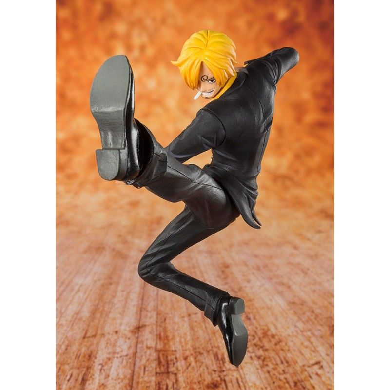 ONE PIECE ZERO DEVIL CHILD BLACK LEG SANJI ACTION FIGURE