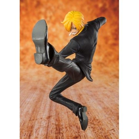 ONE PIECE ZERO BLACK LEG SANJI ACTION FIGURE