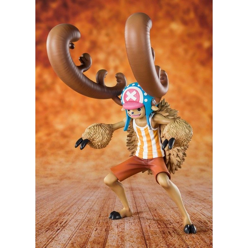 BANDAI ONE PIECE ZERO CANDY LOVER CHOPPER HORN POINT ACTION FIGURE