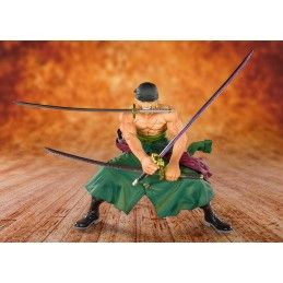 BANDAI ONE PIECE ZERO PIRATE HUNTER ZORO FIGUARTS ZERO ACTION FIGURE