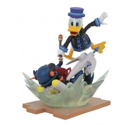 DIAMOND SELECT KINGDOM HEARTS 3 GALLERY - TOY STORY DONALD DUCK PAPERINO FIGURE