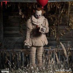 MEZCO TOYS IT - PENNYWISE ONE:12 ACTION FIGURE