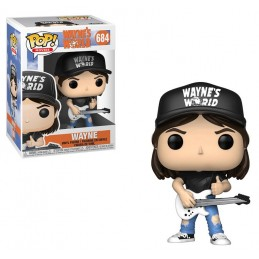 FUNKO POP! WAYNE'S WORLD FUSI DI TESTA WAYNE BOBBLE HEAD KNOCKER FIGURE