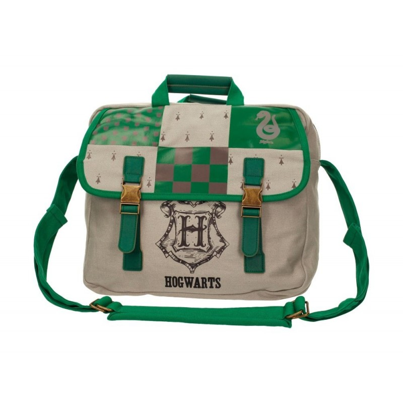 HARRY POTTER - SLYTHERIN BIG CANVAS BAG SERPEVERDE BORSA