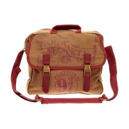 HARRY POTTER - HOGWARTS PLATFORM 9 3/4 BIG CANVAS BAG BORSA