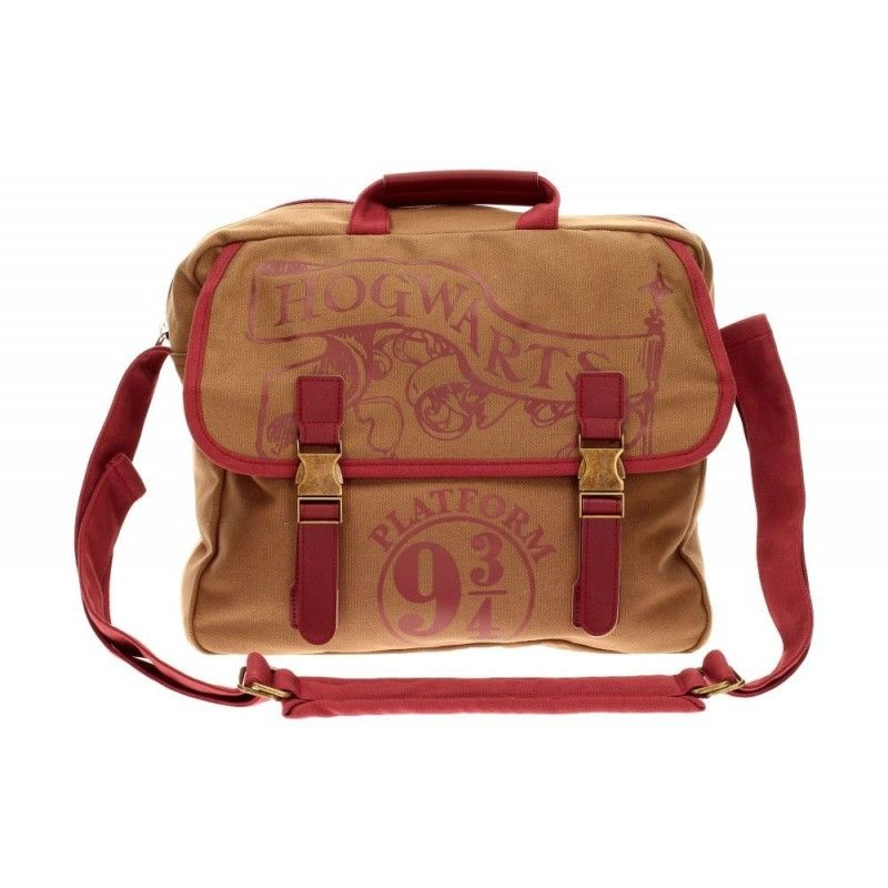 SD TOYS HARRY POTTER - HOGWARTS PLATFORM 9 3/4 BIG CANVAS BAG BORSA