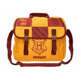 SD TOYS HARRY POTTER - HOGWARTS GRYFFINDOR BIG CANVAS BAG BORSA GRIFONDORO