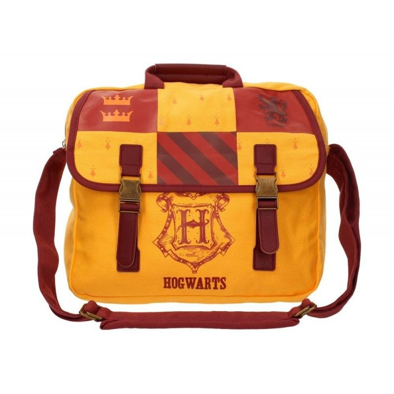 HARRY POTTER - HOGWARTS GRYFFINDOR BIG CANVAS BAG BORSA GRIFONDORO