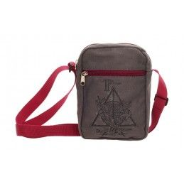 HARRY POTTER - THE DEATHLY HALLOWS SMALL CANVAS BAG BORSA