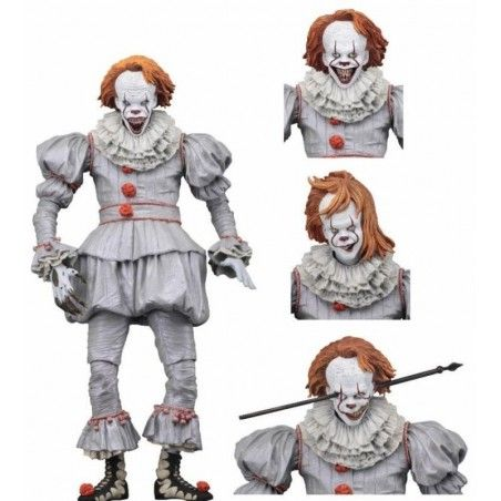 IT - ULTIMATE PENNYWISE 2017 WELL HOUSE DELUXE ACTION FIGURE