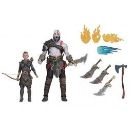 GOD OF WAR 4 - ULTIMATE KRATOS AND ATREUS 2-PACK ACTION FIGURE NECA
