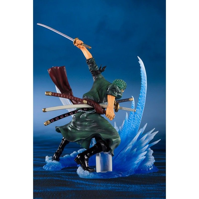 ONE PIECE ZERO RORONOA ZORO YAKKODORI BATTLE EXTRA ACTION FIGURE BANDAI