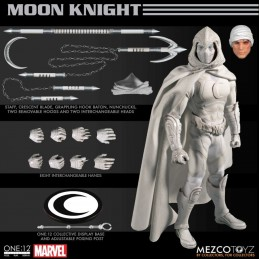 MOON KNIGHT ONE:12 CLOTH ACTION FIGURE