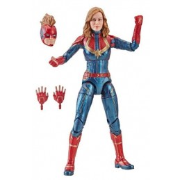 MARVEL LEGENDS CAPTAIN MARVEL SERIES - CAPTAIN MARVEL ACTION FIGURE HASBRO