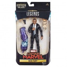 MARVEL LEGENDS CAPTAIN MARVEL SERIES - NICK FURY ACTION FIGURE HASBRO
