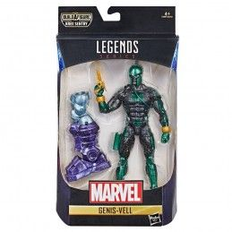 MARVEL LEGENDS CAPTAIN MARVEL SERIES - GENIS-VELL ACTION FIGURE HASBRO
