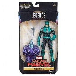 MARVEL LEGENDS CAPTAIN MARVEL SERIES - YON-ROGG ACTION FIGURE HASBRO