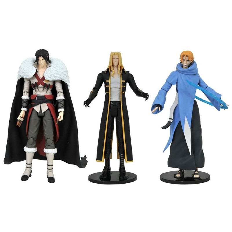 CASTLEVANIA SELECT SERIES 1 SET ACTION FIGURE DIAMOND SELECT
