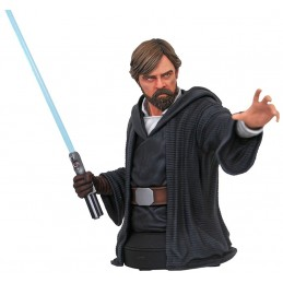 STAR WARS VIII THE LAST JEDI - LUKE SKYWALKER BUSTO IN RESINA 16 CM
