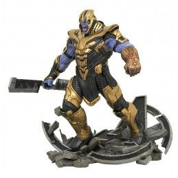 AVENGERS ENDGAME - THANOS ARMORED STATUA IN RESINA MARVEL MILESTONE 40 CM DIAMOND SELECT