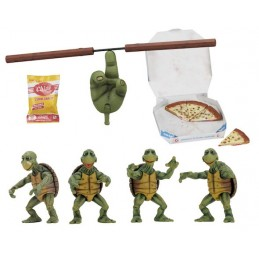 TMNT TEENAGE MUTANT NINJA TURTLES - BABY TURTLES ACCESSORY SET ACTION FIGURE NECA