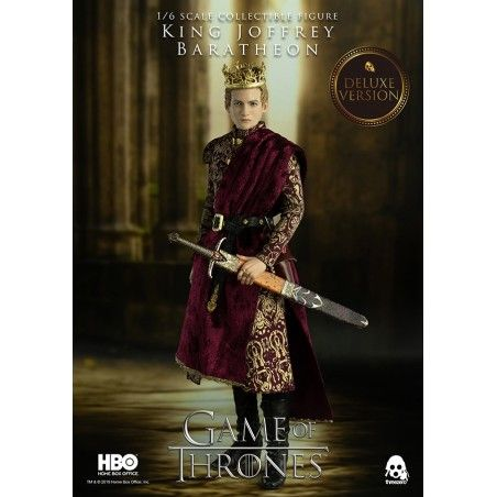 GAME OF THRONES - KING JOFFREY BARATHEON DELUXE 1/6 30 CM ACTION FIGURE
