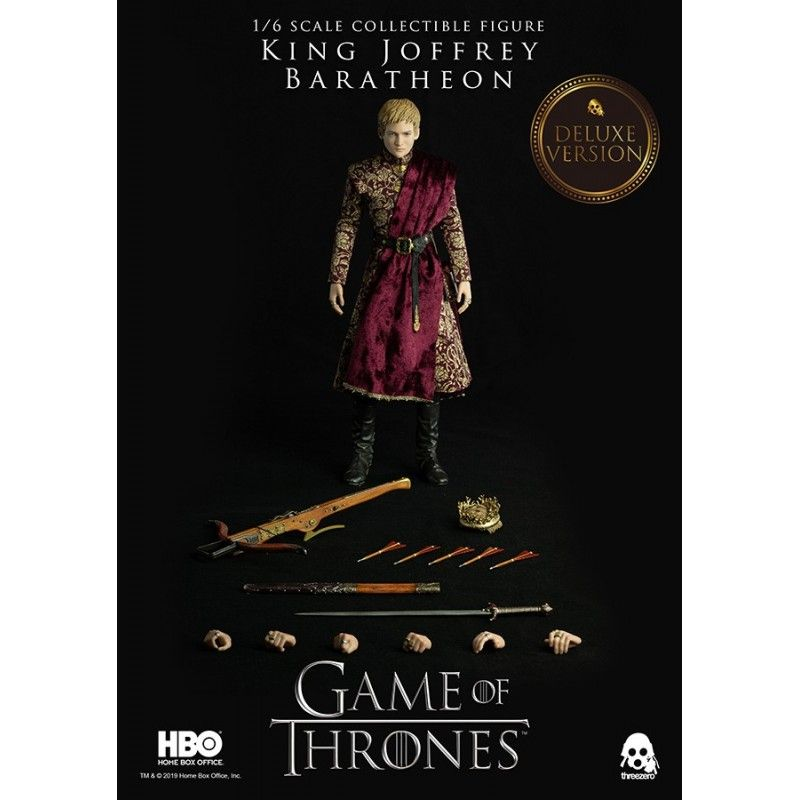 THREEZERO GAME OF THRONES - KING JOFFREY BARATHEON DELUXE 1/6 30 CM ACTION FIGURE