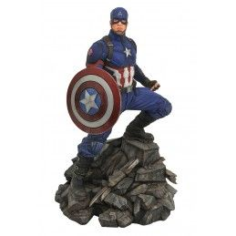 MARVEL PREMIER AVENGERS 4 ENDGAME CAPTAIN AMERICA STATUE RESIN FIGURE DIAMOND SELECT